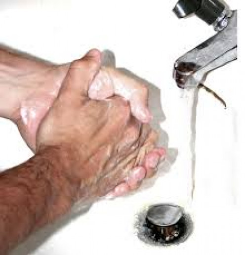 Continually washing the hands is one sign of O.C.D., feeling that hands are not clean