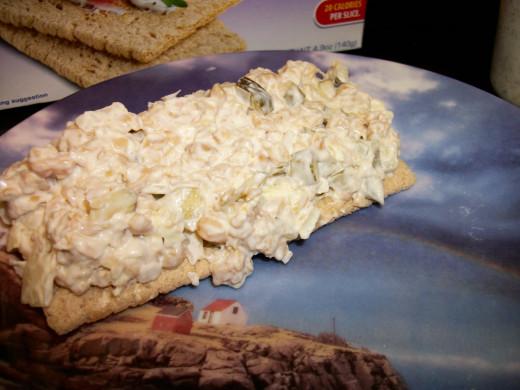 Mike's Chickpea Mock Tuna Salad