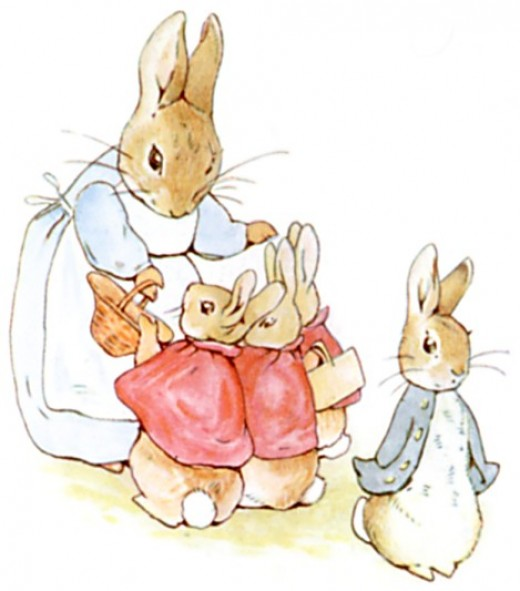 Peter the Rabbit from project Gutenberg