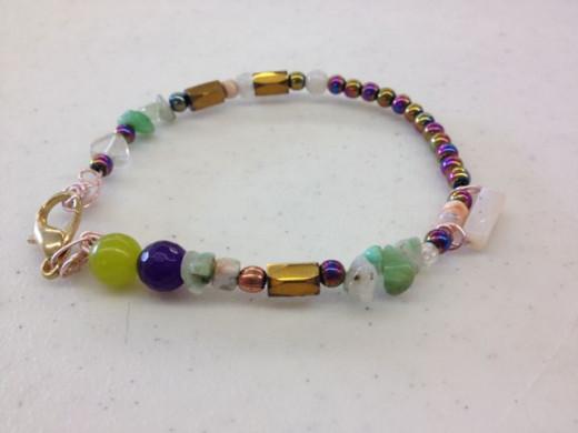 Arthritis Relief Bracelet featuring Opals
