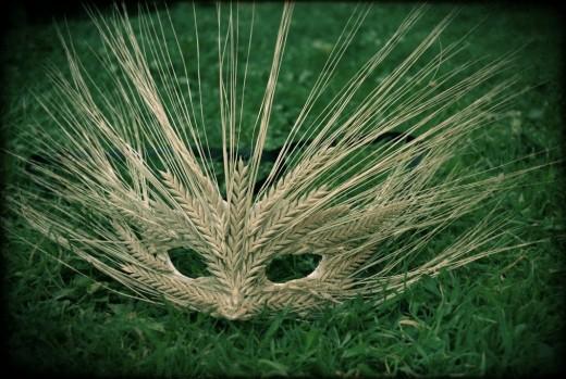 A mask for Lammas
