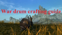ArcheAge war drum crafting guide for the pumped up dance buff
