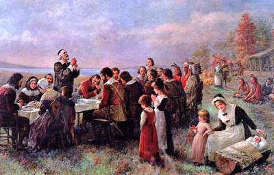 The First Thanksgiving Feast.