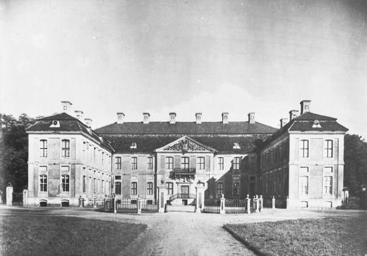The Fickenstein Palace. It was burned in 1945 by the Soviets.