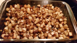 Sausage and Sage Oven Roasted Potatoes
