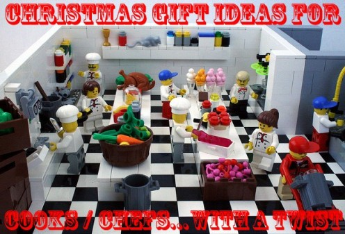 Christmas Gift Ideas For Cooks And / Or Chefs... With A Twist