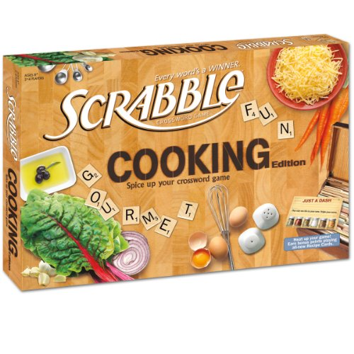 Scrabble Game Cooking Edition