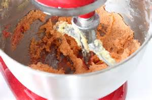 Mixing Jello cookie dough