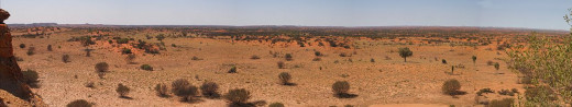 Pictured: the Australian Outback
