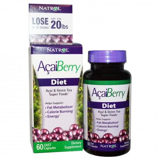 Acai Berry Diet Pills- $10 at Walmart