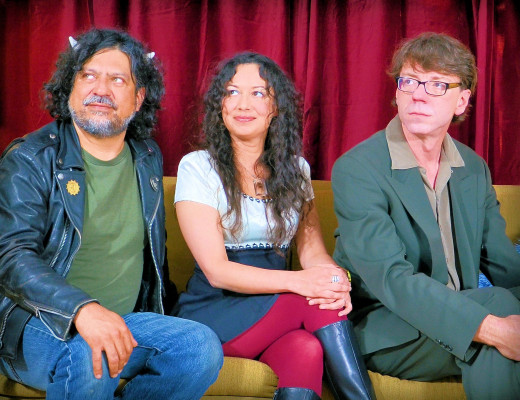 Tony Guzman, Ramune Nagisetty and Drew Anymouse: Portland's Rocket 3