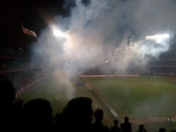 The Experience of Watching a Football Match Live at the Stadium