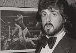 "Sly Stallone studies Rocky's films and photos to get an insight on his ""Rocky"" films"