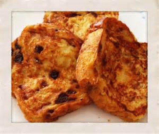 Raisin Bread French Toast