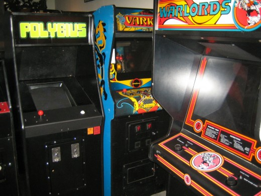 The Polybius video game.
