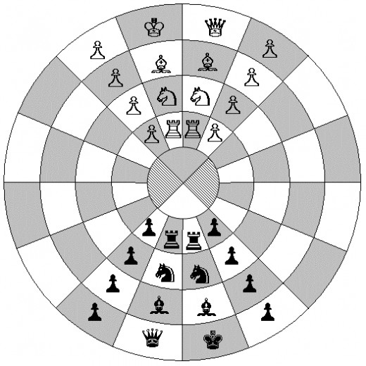 Citadel Chess Starting Positions