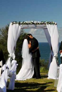 Formal Wedding By The Sea
