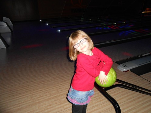No room for gutter balls in parenting (except literally, because I really suck at bowling).