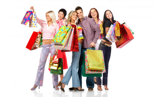 Shopping can be considered a group-event