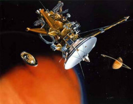 Mark II probe in an artist's concept.