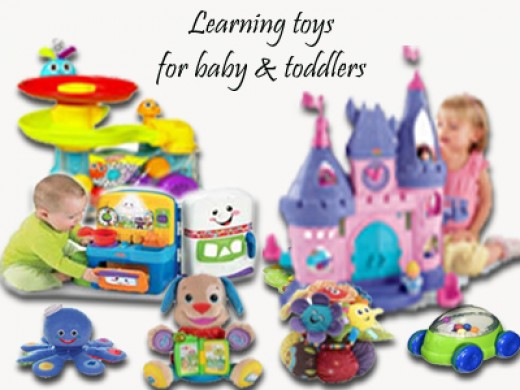 Interactive learning toys for babies and toddlers