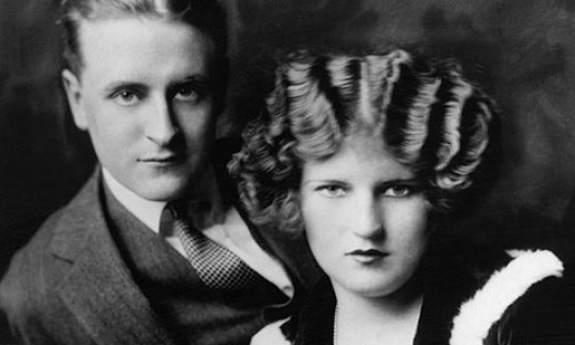 F. Scott Fitzgerald and Zelda Fitzgerald.