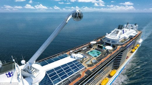 *All images of Quantum of the SeasSM are computer generated and reflect proposed design. Designs, features and itineraries are subject to change.