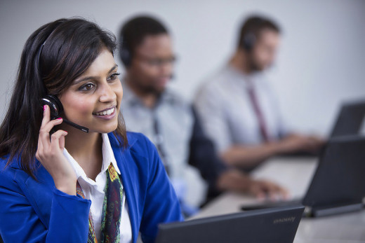 A good customer service agent can always move on to the next interaction with a smile.