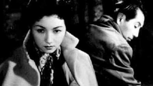 Looking cool even in abject failure: Yukiko (Hideko Takamine) and Kengo (Masayuki Mori) in Mikio Naruse's Floating Clouds (1955)