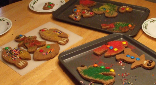 The Christmas cookies decorated by kids usually taste the best of all!