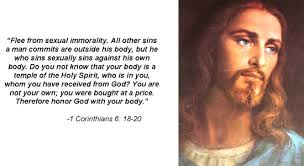Who better than the source to guide you away from Sin and the ugliness that comes from ourself and the evil ones.