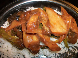 Chinese Eggplant in Garlic Sauce