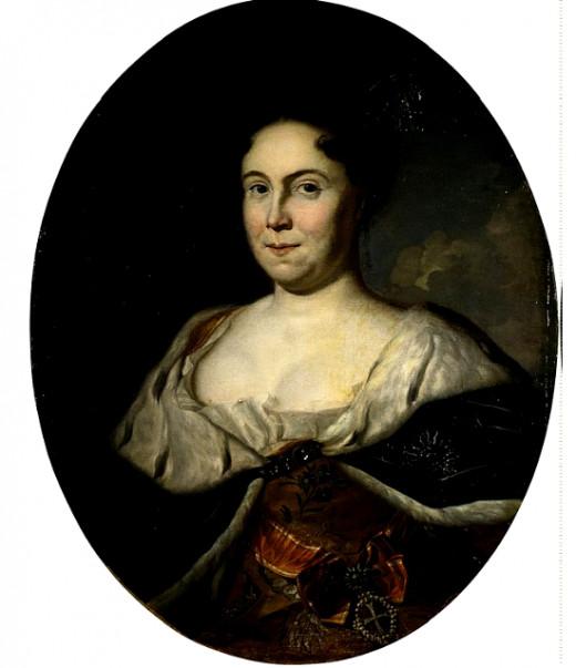 Catherine I by Carel de Moor
