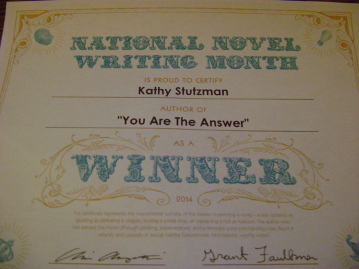 Slaying the word dragon - winning NaNoWriMo feels pretty good wrote 50,000 words in November