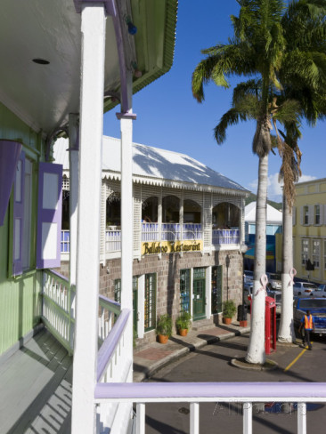 Life can be laid back in the capital of Basseterre Purchase at AllPosters (affiliate link)