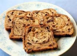 Platter of Raisin Bread French Toast