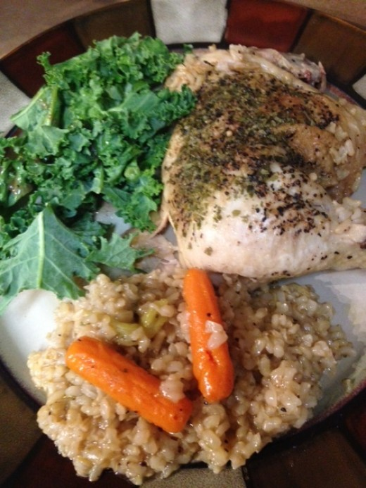 Baked Chicken And Rice Cooking With The Electric Power Pressure Cooker Reviews Hubpages