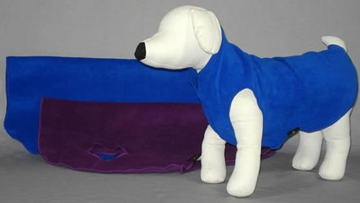 Stretch Fleece Jacket for dogs
