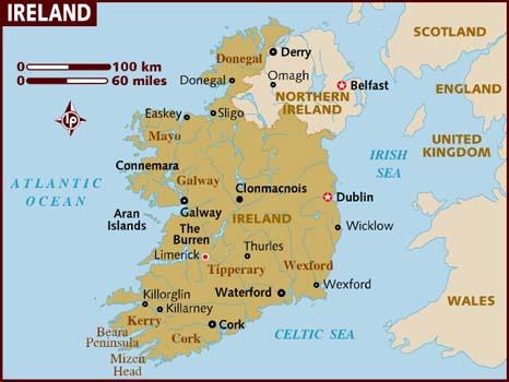 Modern Ireland - rugged scenery, warm welcome
