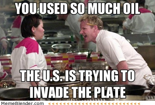Overrated meme? Don't mind if I do! But seriously, don't add too much oil. Many oils, olive included, are incredibly unstable at the high heat at which you should bake chicken.