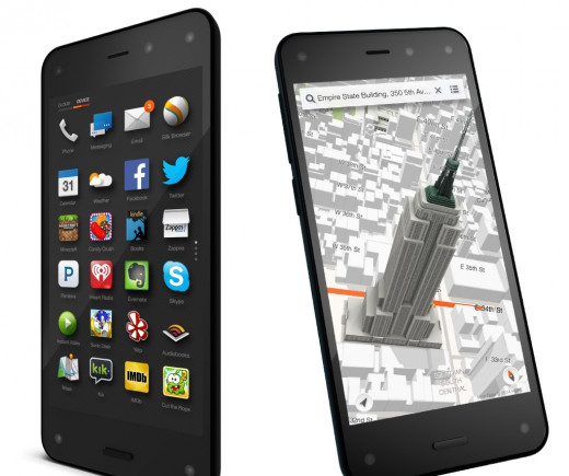Amazon 3D camera phone