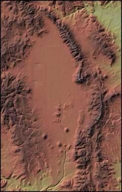 Satellite view of the SLV