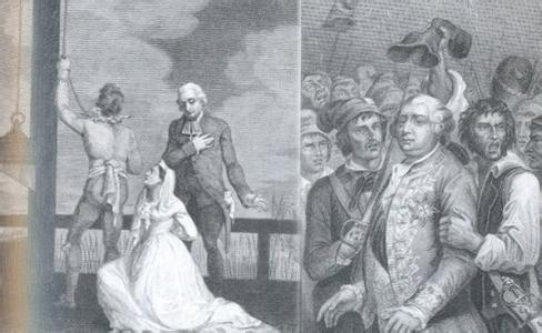 The Execution Scene of Louis XVI and His Queen