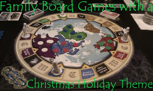 Family Board Games With A Christmas Holiday Theme