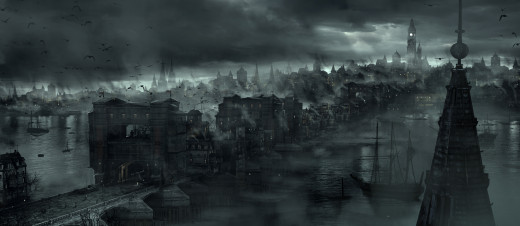 Concept art from Thief