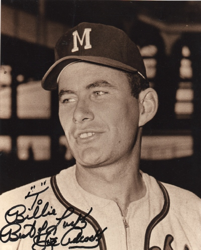 Joe Adcock - First Base, Milwaukee Braves