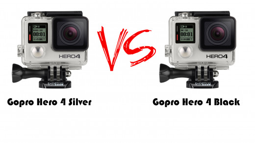 gopro hero4 black vs silver which to buy hubpages