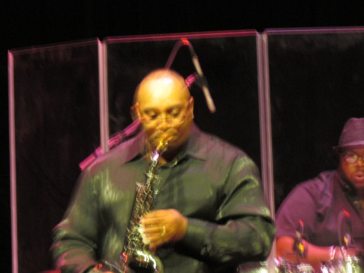 """Rick Williams and his jazz band also performed such songs as """"People Make the World Go Round"""" and """"Footprints"""" by Miles Davis."""