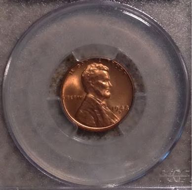 A Lincoln Cent from my birth year