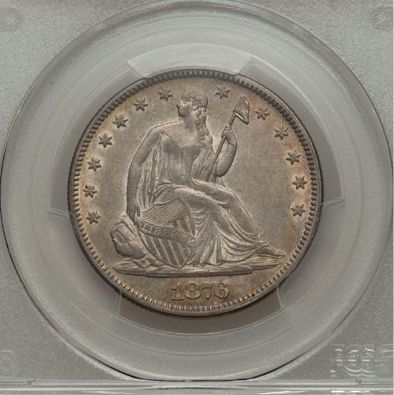 Seated Liberty Half Dollar from my collection